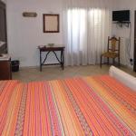 camera arancio stanza